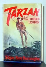 Collectible (Read)Tarzan and the Foreign Legion Hardcover w/ Dust Jacket 1st Ed.