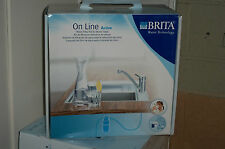 BRITA On Line Active Filtration Kit - filtered water from your existing tap !
