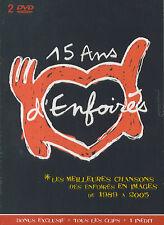 Les Enfoirés : 15 ans d'Enfoirés (2 DVD)
