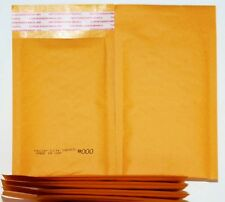 "104 KML-000 Self-Sealing Golden Kraft Bubble Cushioned Envelope Mailers 4"" x 7"""