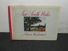 Old Australia Souvenir Book NSW Natures Wonderland