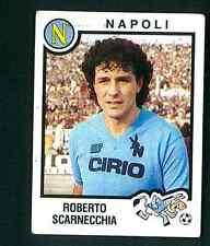 Figurina Calciatori Panini 1982-83! N.183! Scarnecchia! Napoli! Nuova Non comune