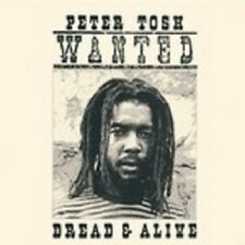 PETER TOSH 'WANTED DREAD AND ALIVE' CD NEW+