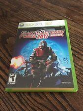 Earth Defence Force 2017 Xbox 360 Cib Nice Disk XG3