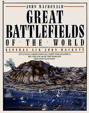 Great Battlefields of the World by John MacDonald (1988, Paperback)