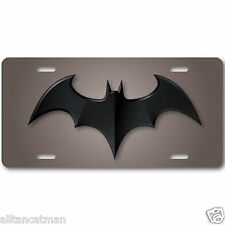 Batman Aluminum License Plate Tag  Baked on Finish Cool New Vanity Dark Knight 1