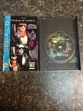 The Terminator (Sega CD, 1993) Complete in Box