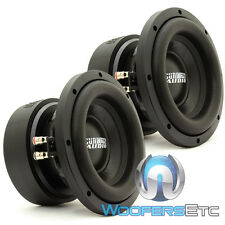 "(2) SUNDOWN AUDIO E-8 V.5 D4 8"" SUBS 300W RMS DUAL 4-OHM CAR SUBWOOFERS SPEAKERS"