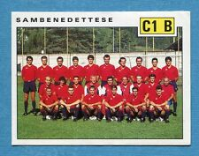 CALCIATORI PANINI 1991-92 -Figurina-Sticker n. 613 - SAMBENEDETTESE -New