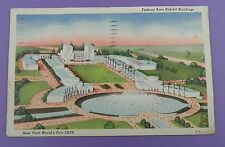 New York World's Fair 1939, Federal Building and Surrounding Area