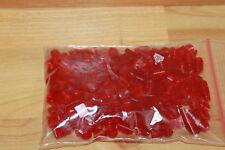 Lego Technik - 200 transparente Steine rot, verschiedene Maße, 1er 2er 6592