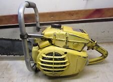 "VINTAGE COLLECTIBLE MCCULLOCH SUPER 44A  CHAINSAW WITH 22"" BAR MFG 1959-1960"