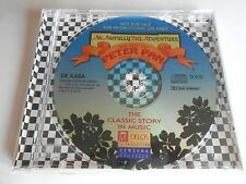 The Best Of Peter Pan 1904-1996 An Awfully Big Adventure CD Sampler Picture Disc