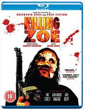 KILLING ZOE - BLU-RAY - REGION B UK