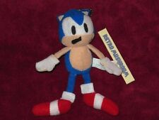 "1990s JAPANESE SONIC THE FIGHTERS SEGA 5"" TINY PLUSH! V RARE! HEDGEHOG!"