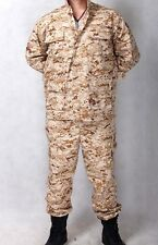 New USMC Marine BDU Replica Marpat Desert Camo Camouflage Size Large---Airsoft