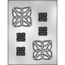 CELTIC WEDDING KNOT SQUARE CHOCOLATE CANDY MOLD MOLDS WEDDING PARTY FAVOR