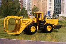 Joal 204 - Komatsu WA600-3 Four Wheel Log Loader Diecast New - Scale 1:50