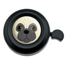 Pug Face Pet Dog - Bicycle Handlebar Bike Bell