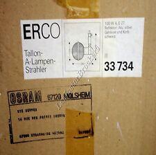 Spot lampe Reflecteur Alu ERCO Tallon lampen-Strahler33734 Roger Tallon Vintage