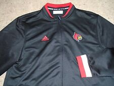 Louisville Cardinals Adidas Football Team Issued Travel Jacket Choice Of Size