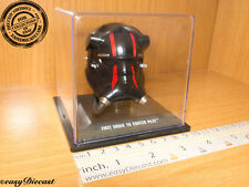FIRST ORDER TIE FIGHTER PILOT STAR WARS HELMET CASCO CASQUE 1/5 MINT WITH CASE!!