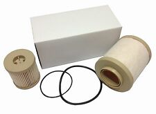 2003- 2007 Ford 6.0L Fuel Filter set 4604 Both Upper and Lower Filter Included