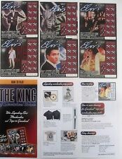 Elvis Presley Instant SV Lottery Ticket Set of 6 and Game Brochure, 2002 issue