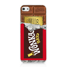 Willy Wonka Golden Ticket Chocolate Bar Case Cover For iphone 5 5S New Style