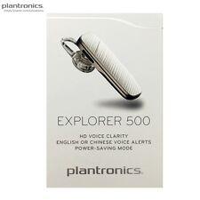 Plantronics Explorer 500 Mobile Bluetooth HD Voice Clarity A2DP Headset White LE