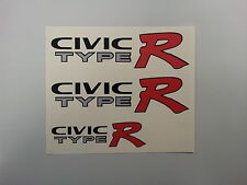 HONDA Civic Tipo R EK9 Auto Adesivo Decalcomanie (Set)