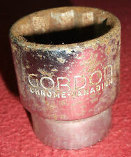 Gordon 9/16W 1/2 Drive Whitworth BSW 9/16 W Socket 12 Point Made In England