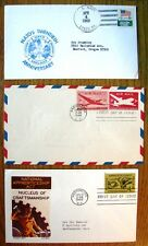 THREE VERY COLLECTABLE USA FIRST DAY COVERS 1946 1962 & 1969 ALL CLEARLY STAMPED