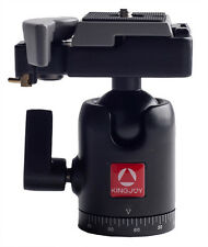 Phot-R QB-30 Tripod Ball Head with Quick Release Plate Swivel 360° DSLR 498RC2