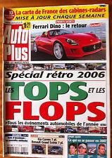 AUTO PLUS du 25/12/2006; Ferrari Dino; le retour/ Le Tops et les Flops/ Kia Care