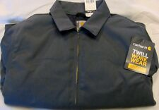 Carhartt Twill Work Jacket - Dark Gray - XL - Reg