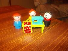 vintage fisher price little people sewing machine
