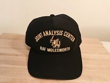 Joint Analysis Center RAF Molesworth Patch Blck Baseball Cap Hat USECOM JAC NATO