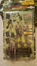 1:18 POWER TEAM ELITE SAS BRITISH 3 FIGURES WORLD PEACEKEEPERS SET 1/18 HUMVEE