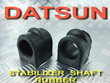2x STABILIZER SHAFT RUBBER FIT FOR DATSUN 620 720 PICKUP TRUCK