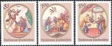 Liechtenstein 2006 Christmas/Greetings/Nativity/Angel/Donkey/Cattle 3v (n42414)