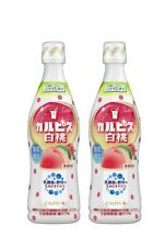 CALPIS Peach Concentrate 470ml(about 15 cups) ✕2bottles Calpico from Japan
