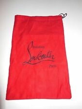 CHRISTIAN LOUBOUTIN RED STORAGE DUST BAG