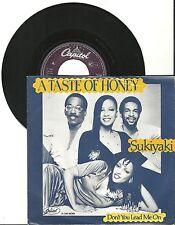 """A Taste Of Honey, Sukiyaki, G/VG, 7"""" Single, 1526"""