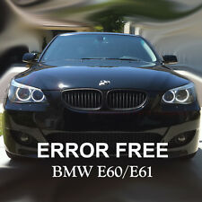 BMW 5 SERIES E60 E61 PRE LCI XENON WHITE ANGEL EYE HALO RING LIGHT