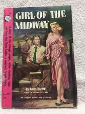Girl of the Midway by Amos Hatter 1952 Cameo 320 ca Rudy Nappi PBO digest size