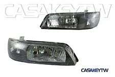 New Headlights Black Head Light For 1996-1999 INFINITI I30 NISSAN MAXIMA