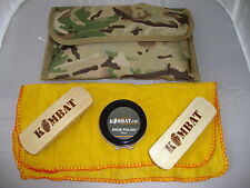 MULTICAMO ARMY BOOT CLEANING KIT POUCH BTP = MTP ASSAULT PARA PATROL CADET TA