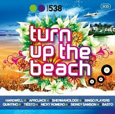 RADIO 538: TURN UP THE BEACH 2 CD NEU NICKY ROMEO/MARTIN SOLVEIG/LA FUENTE