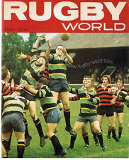 RUGBY WORLD MAGAZINE JANUARY 1976 - PERFECT GIFT FOR A FAN BORN IN THIS MONTH
